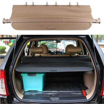 Rear Trunk Security Screen Privacy Shield Cargo Cover For KIA SPORTAG 2006 2007 2008 2009 2010 2011 2012 (Black Beige)