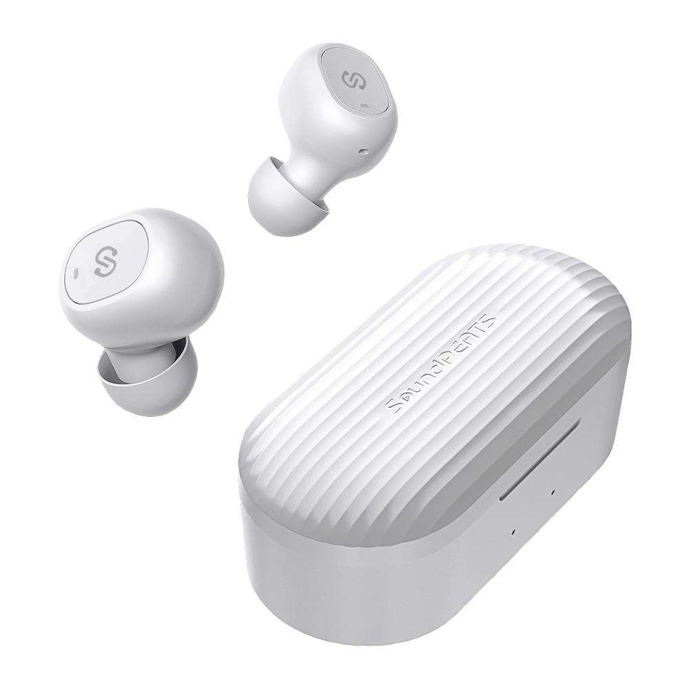 SoundPEATS TWS Bluetooth 5.0 Wireless Earphones In-Ear Stereo Wireless Earbuds One-Step Pairing Headset With Mic Truefree Plus