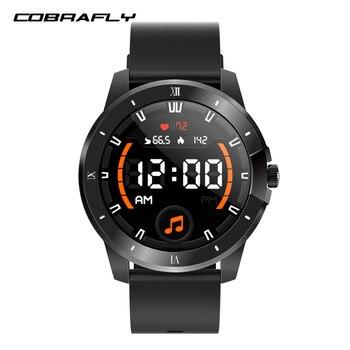 Смарт-часы Cobrafly MX12 2021 для мужчин и женщин, фитнес-браслет с воспроизведением музыки в качестве карты для хранения, сверхдлительный Срок служ...