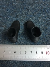 1/6 Scale Female Tall Plastic Boots Shoes for 12 Changable Feet Action Figure