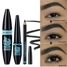 3 IN 1 Makeup Set For Daily Use Include Eyeliner Mascara Eye