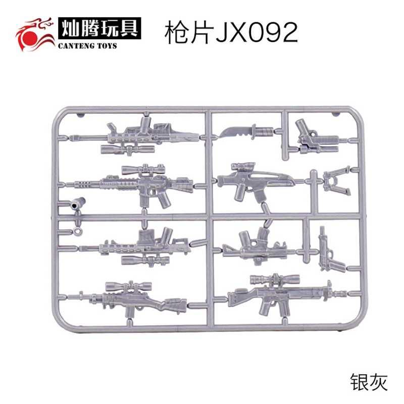 Legoing العسكرية Swat الجندي الجيش WW2 سلاح الاكسسوارات جزء M82A2 XM8 M82A1 M93R G3 M14 بنة سلاح الشكل Legoings