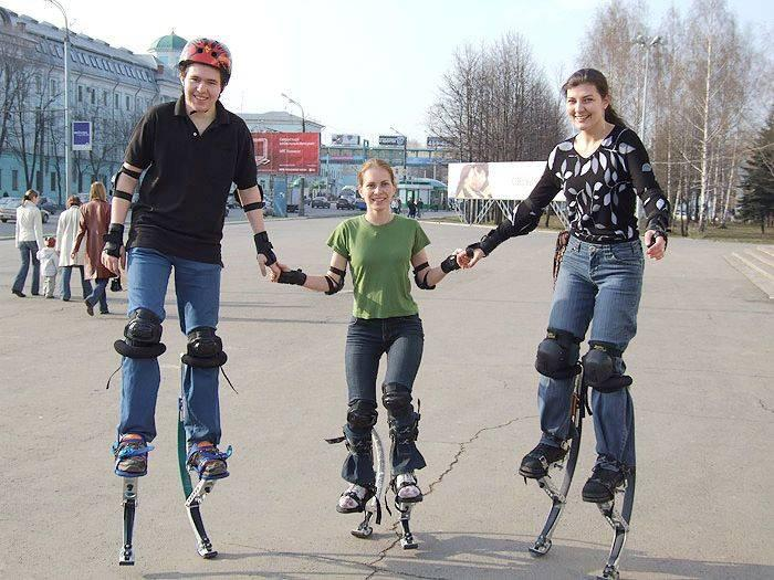 50-110KG jumping stilts shoes