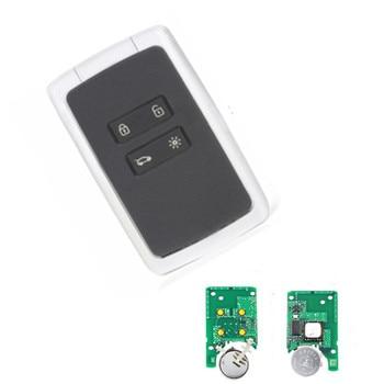 Wilongda  Smart Car Key 4 button keyless remote key 434mhz Hitag AES 4A chip for renault megane 4 Keyless car key
