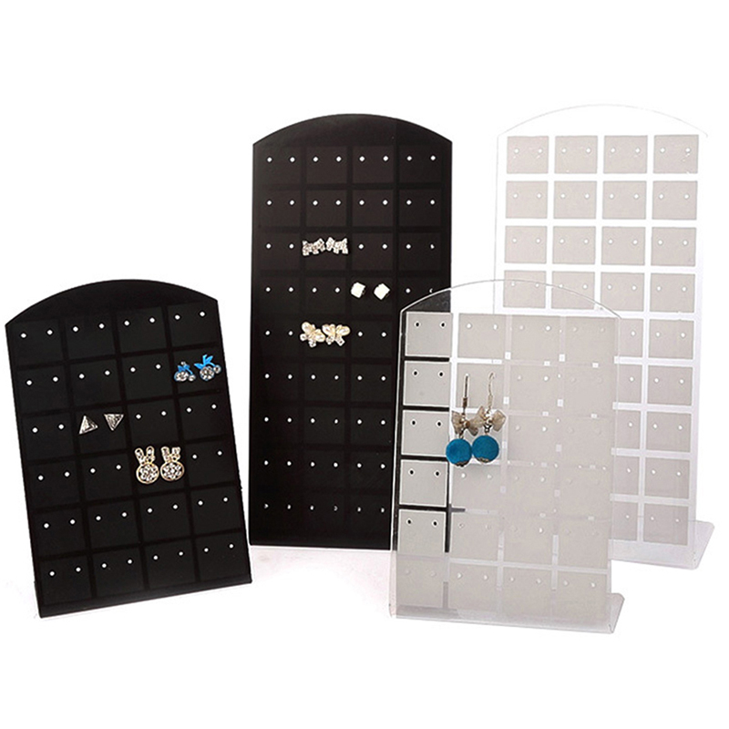 Hot New 1Pcs 48hole Earring Display Stand Or Convenient Jewelry Holder Show Case Tool