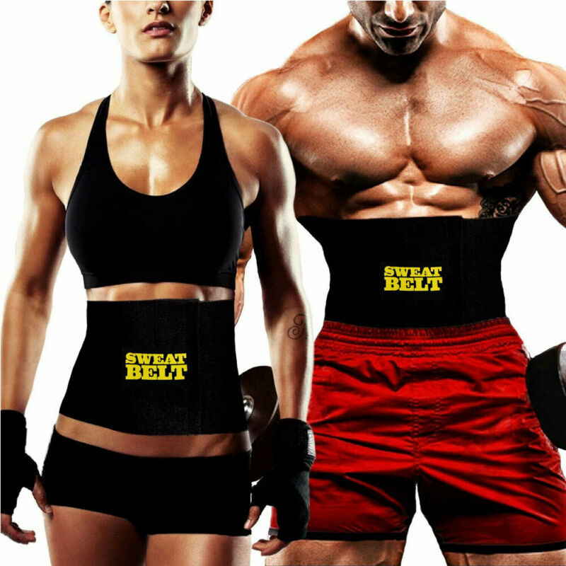 Hot Belt Men Sweat Shaper Body Neoprene Sport Corset Waist Sauna Women Belly Trainer Indoor Activities Shapers Waist Cinchers