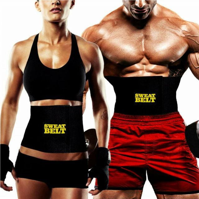 Hot Belt Men Sweat Shaper Body Neoprene Sport Corset Waist Sauna Women Belly Trainer Indoor activities Shapers Waist Cinchers