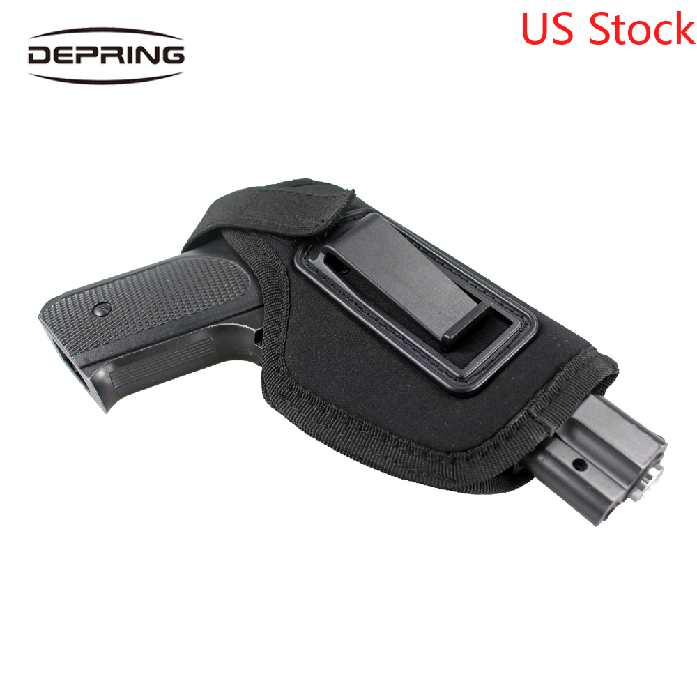 Gun Holster Neoprene Universal IWB Handgun Holster For Concealed Carry Fit Most Pistols Subcompact Compact Medium Pistols