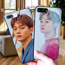 EXO chen For iPhone X XR XS MAX Soft Silicone Back Cover For Apple iPhone 8 7 6S 6 S Plus Phone Case(China)