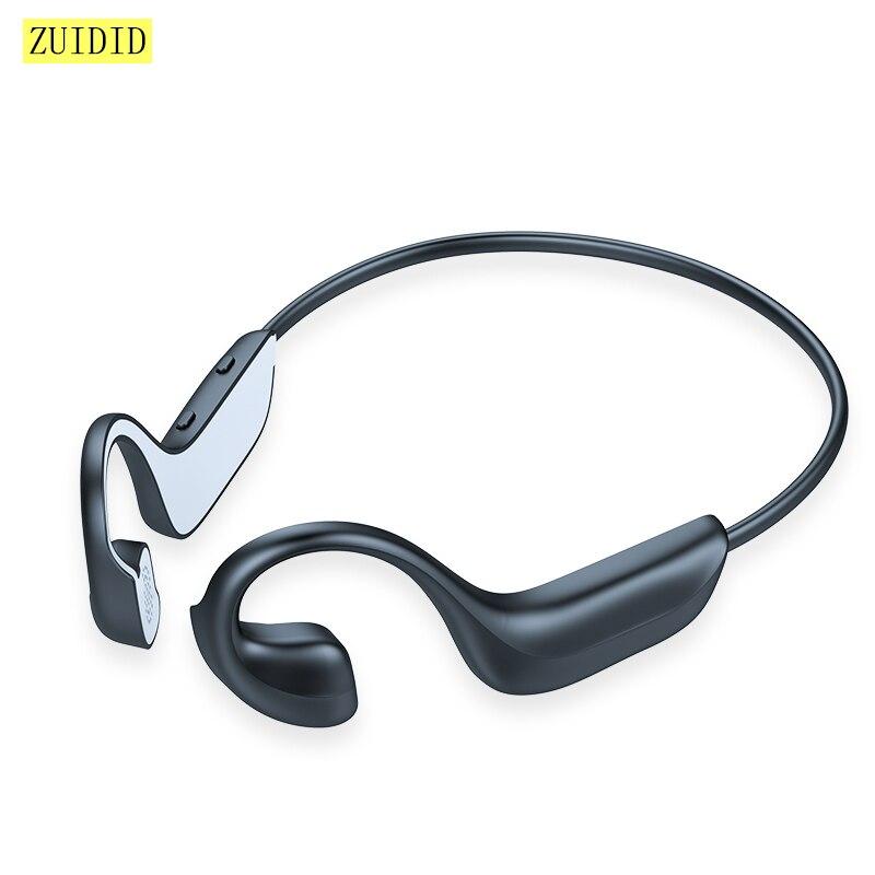 G100 condução óssea sem fio bluetooth 5.0 fone de ouvido estéreo esportes ao ar livre à prova dwaterproof água com microfone