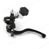 Motorbike Hydraulic Brake Clutch Master Cylinder Reservior Lever Oil Tank Cup Universal for Dirt Street Scooter ATV