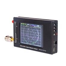 3.2 אינץ LCD S A A 2 NanoVNA V2 פרו וקטור רשת Analyzer VNA אנטנת Analyzer 50KHz 3GHz + RF ערכת הדגמת