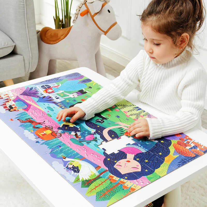 Mideer дети познавательная головоломка для детей 104 шт. спальный Красота пазл игрушка в подарок Коробки 3-6 лет