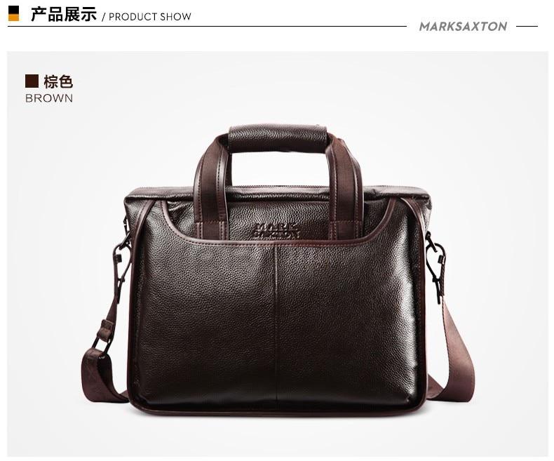 Hbf99ee622e3c430c9f54f74dd7a5dd7cN 2019 New Fashion cowhide male commercial briefcase /Real Leather vintage men's messenger bag/casual Natural Cowskin Business bag