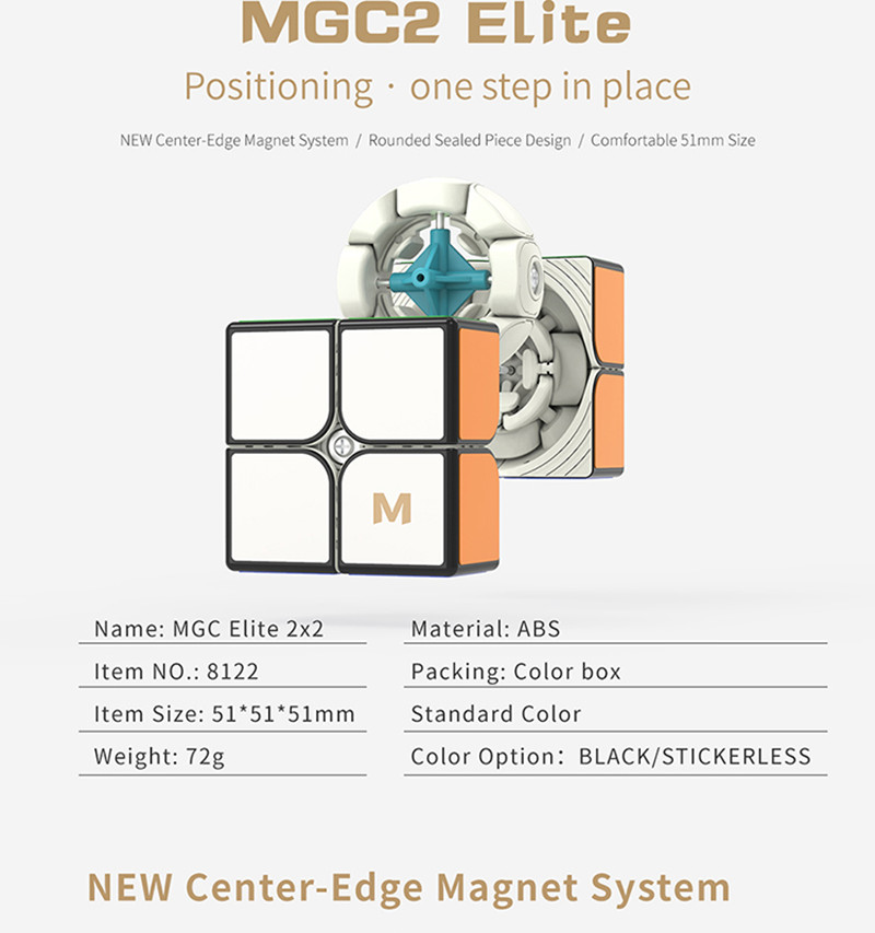 Mgc 2x2 elite cubo magnético mgc 2x2x2