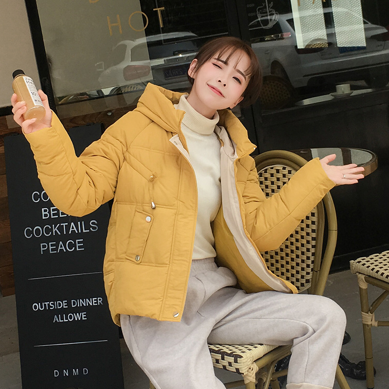 ZADORIN Winter Coat Women Thin Slim Cropped   Parkas   2019 Korean Ultralight Candy Colors Long Sleeve Overcoat Vintage Kawaii Coats