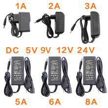 Power Supply  Adapter Household 5 / 9 / 12 / 24 V Universal Charger EU US 2 specifications