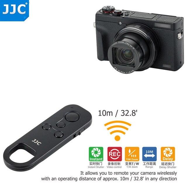 JJC BR E1 Wireless Remote Control Controller for Canon EOS M50 Mark II 6D Mark II R5 R6 R RP 90D 77D 850D 800D 200D II M200 M50