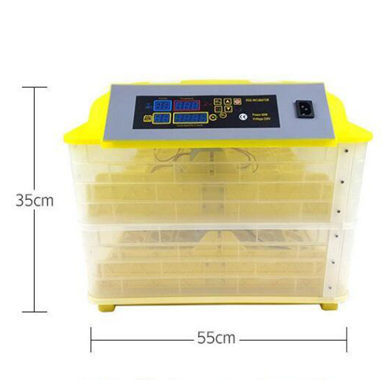 Newest Digital Egg Hatching Incubator With Temperature Alarm/Humidity Alarm For Birds 2