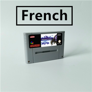 Image 1 - Bahamut Lagoon   French Language   RPG Game Card EUR Version Battery Save