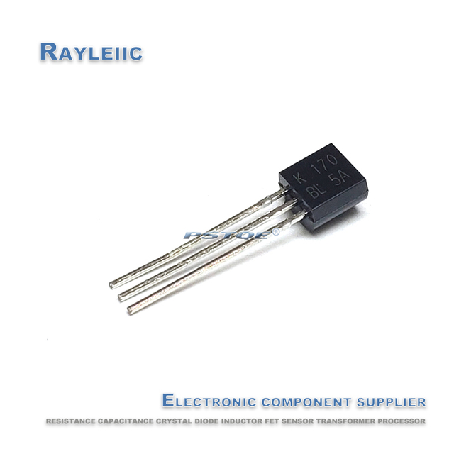 NEW Original 2SK170BL TO 92 2SK170 BL 2SK170 2SK170B K170 TO92 Audio power amplifier tube In Stock