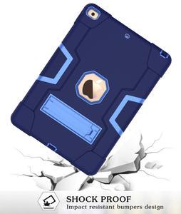 Image 2 - Nowy dla iPad 10.2 7th Gen 2019 przypadku, wytrzymała, odporna na wstrząsy Heavy Duty hybrydowy trójwarstwowy pancerz obrońca dzieci zabezpieczone przed dostępem przez dzieci pokrywa