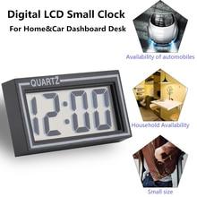 Цифровой ЖК-дисплей стол приборной панели автомобиля стол Дата Время Календарь маленькие часы прочный для домашнего использования маленький размер