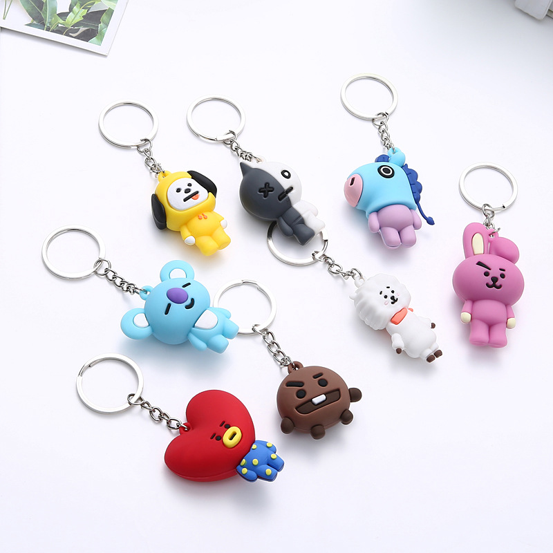 Chain Jewelry Bangtan-Accessories Personalized Women Cartoon Cute Tata-Kpop Suga-for