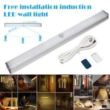 Горячий светодиодный индукционный светильник для шкафа с usb зарядкой для шкафа PLD