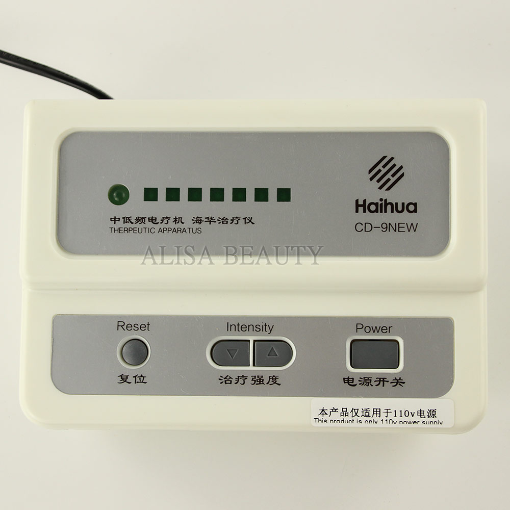 Image 5 - New Upgrade Haihua CD 9 Serial QuickResult Therapeutic Apparatus Electrical Stimulation Acupuncture Therapy Device 110V 220V-in Massage & Relaxation from Beauty & Health