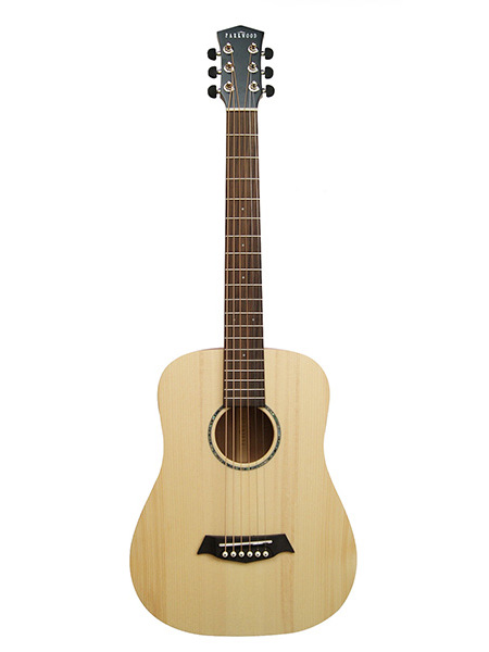 S-mini acoustic <font><b>guitar</b></font>, drednought <font><b>3/4</b></font>, with case, Parkwood image