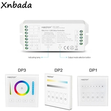 Milight DALI 5 IN 1 LED 스트립 컨트롤러 DP1 밝기 디밍 패널 DP2 색 온도 디밍 패널 DP3 RGB + CCT 디밍