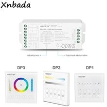 Milight DALI 5 IN 1 LED şerit denetleyici DP1 parlaklık karartma paneli DP2 renk sıcaklığı karartma paneli DP3 RGB + CCT karartma