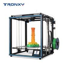 Модернизированный Tronxy X5SA 3D принтеры DIY Наборы сенсорный Экран автоматический уровень крупный шрифт Размеры 330*330 мм тепло кровать 3D машина Датчик накаливания