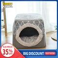 CAWAYI питомник мягкий домик для домашних животных кровать для собак кошек товары для маленьких животных Cama Perro Hondenmand Panier Chien Legowisko Dla Psa
