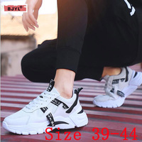 BJYL spring new dad shoes super popular men's shoes single shoes men's thick soles comfortable sports style leisure net shoes