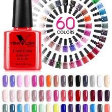 Varnish Nail-Gel-Polish Salon Nail-Art Organic Color-7.5ml VENALISA Soak-Off Hot-Sale