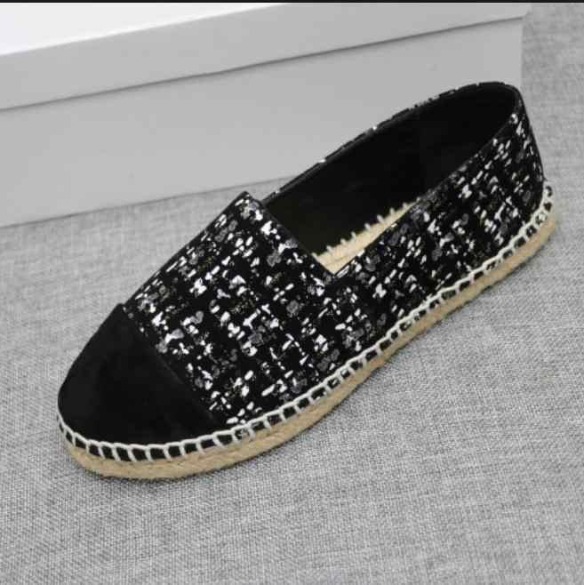 Espadriles Flat Shoes Women Fall Loafers Women Weave Sapato Feminino Slip On Ladies Shoes Round Toe Women Shoes Zapatos De Mujer