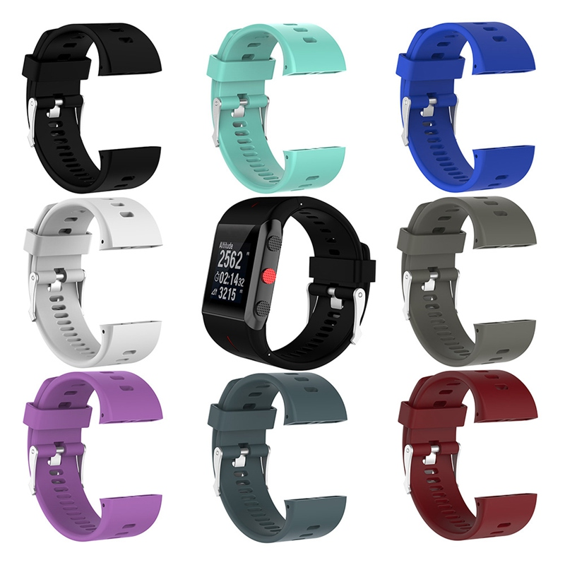 Strap Adjustable Silicone Watch With Replacement Accessories For Polar V800 Sports Watch Accessories NEW!