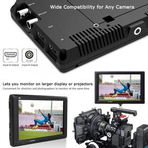 Image 3 - Feelworld FW279S 7 inch 3G SDI 4K HDMI DSLR Camera Field Monitor Ultra Bright 2200nit Full HD 1920x1200 LCD IPS for Outdoors New