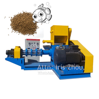 RL DGP120 B Feed for fish, dog, cat fish 500 600 kg/h floating feed pellet extruder meal making machine