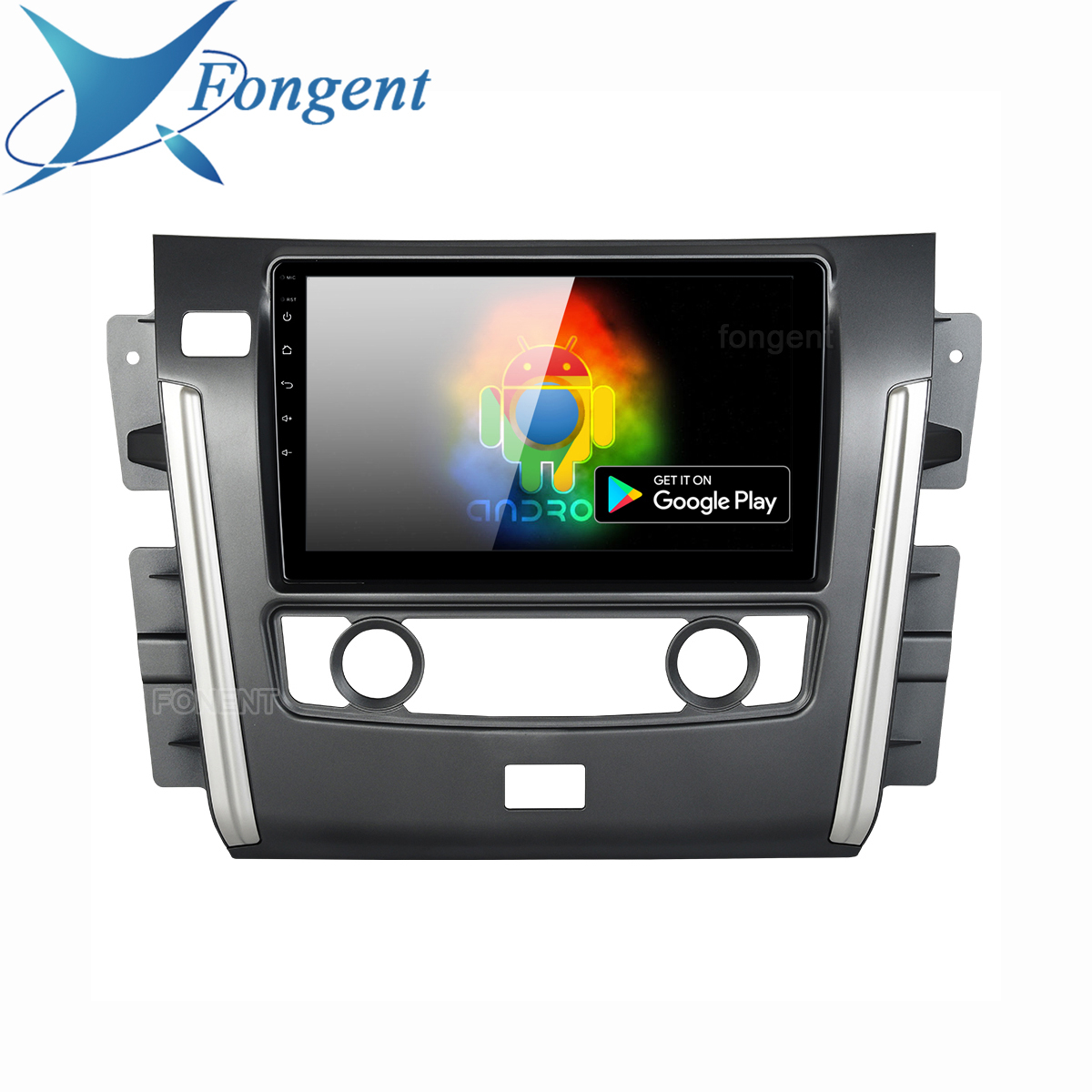 """for Nissan Patrol 2018 Radio Auto Car Multimidia Android 9.0 Head Unit GPS Car Bluetooth 10.2"""" IPS Intertainment system Stereo"""