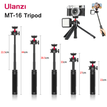 Ulanzi MT-16 Extendable Desktop Tripod Stand With Ball Head Cold Shoe Selfie Stick For Microphone LED Light Smartphone Camera
