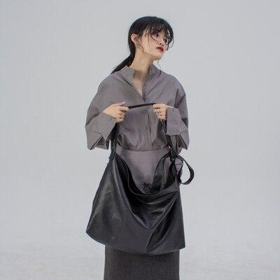 2020 original bandolera Correa nudo diseño oversize super suave bolso de cuero solo hombro bandolera sucio seis TANTO