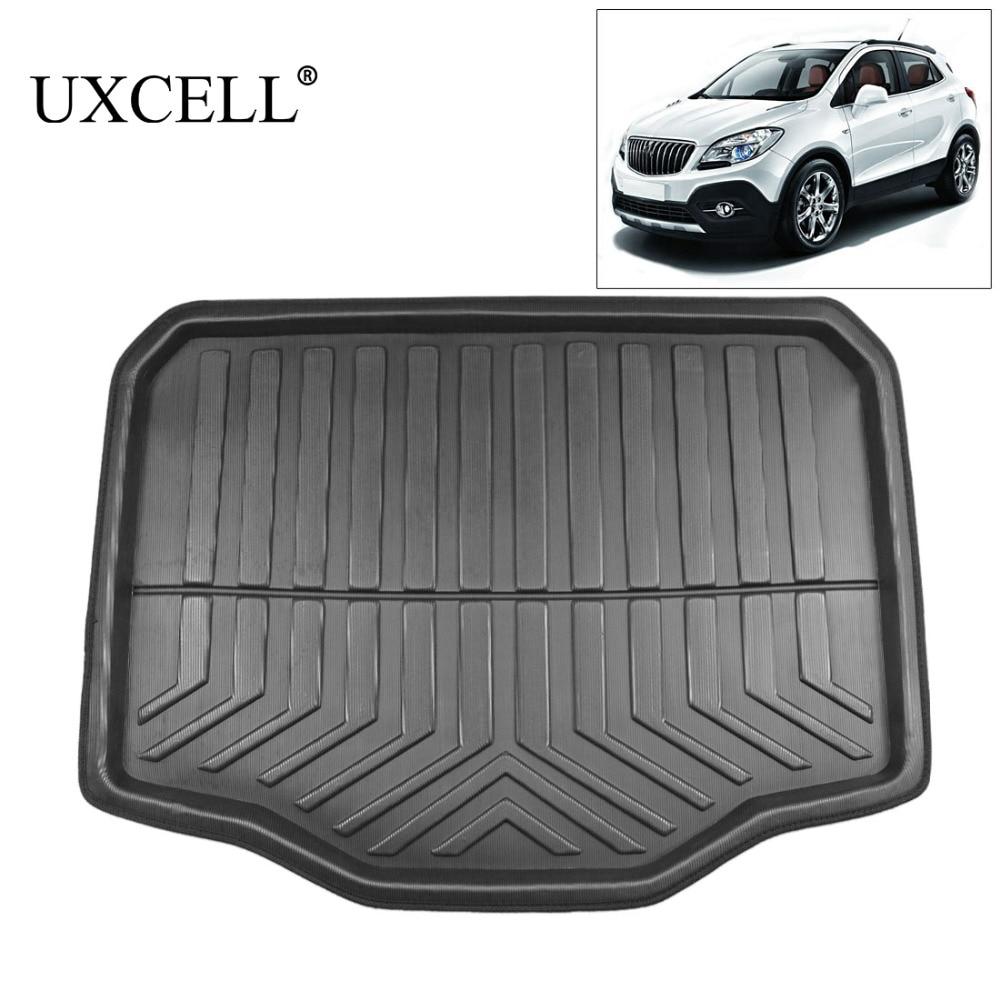 UXCELL PE+EVA Foam Plastic Black Rear Car Trunk Boot Liner Cargo Mat Floor Tray Carpet For Buick Encore 2013 2014 2015 2016 2017