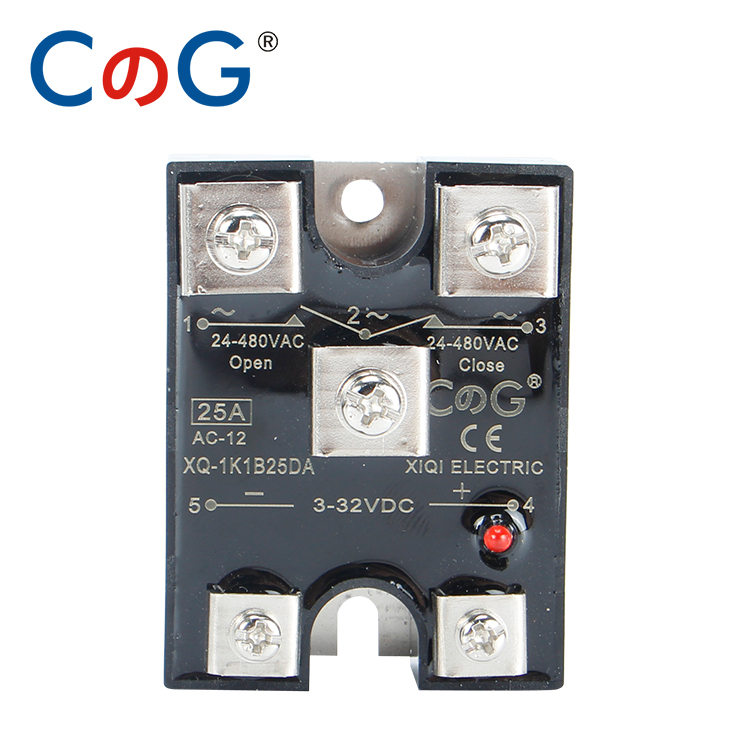 CG NC и NO SSR 10A 25A 40A DA нормально замкнутое и нормально открытое Однофазное управление постоянным током SSR-10DA 25DA NC твердотельное реле