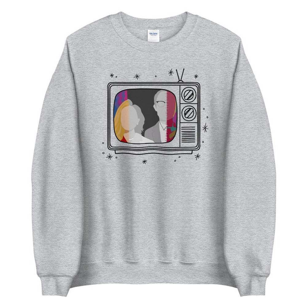 New Tv Show WandaVision Sweatshirt An Unusual Couple Wanda TV Graphic Crewneck Pullover Scarlet Witch Hoodie Hipster Tops 4