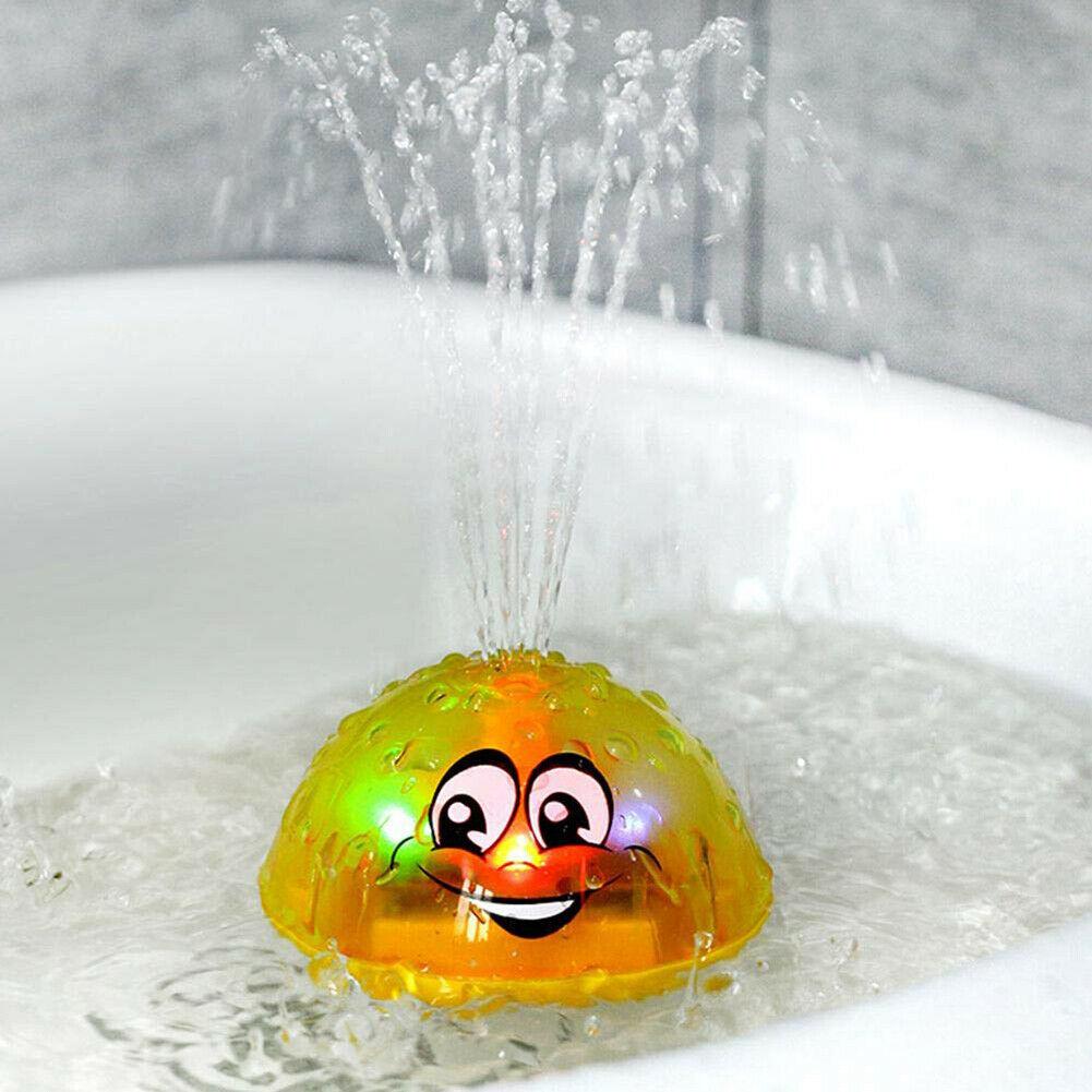 Bébé Spray bain d'eau jouet automatique Induction arroseur piscine éclairage jouet cadeau été en plein air Funy jouer jeu douche enfant