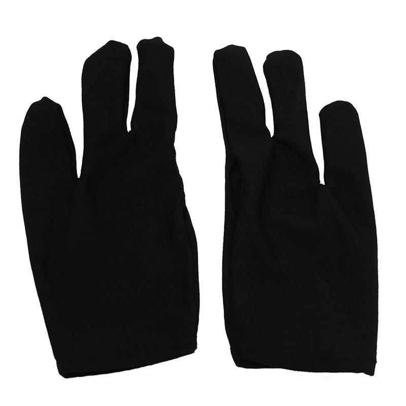 10 Billiards Pool Snooker 3 Fingers Gloves