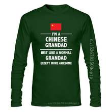 2020 Fashion Casual Men T-shirt I'M A CHINESE GRANDAD - China / Father's Day / Funny Gift Idea Mens T-Shirt